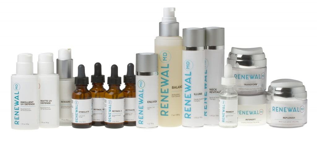 RenewalMD Premium Skin Care Products